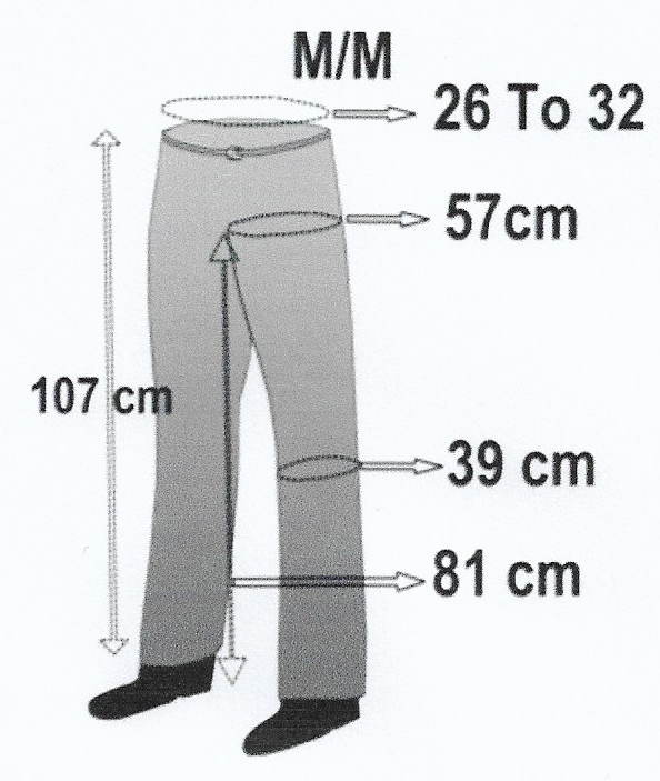 SIZES SHOWCHAPS